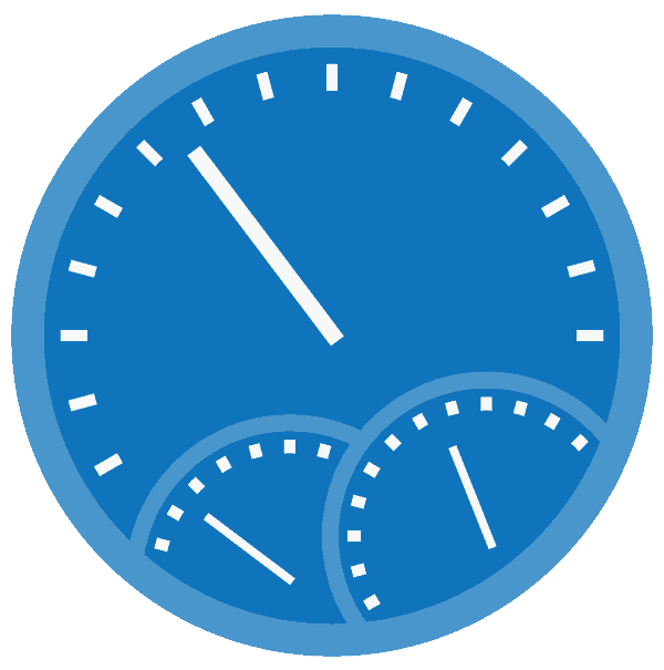 Speedometer Icon to represent website speed - CloudDev Web Design